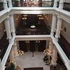 Interior of Raffles Hotel Singapore