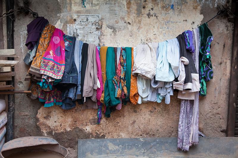 washing facilities in Dharavi
