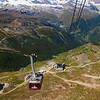 Rothorn cable car, Zermatt Switzerland