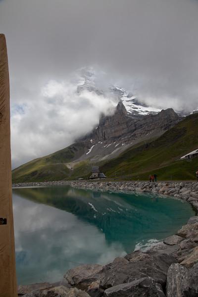 bottom of the Eiger at Kleine Scheidegg