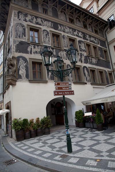 Prague center building