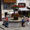 Gruyere fountain (Switzerland)