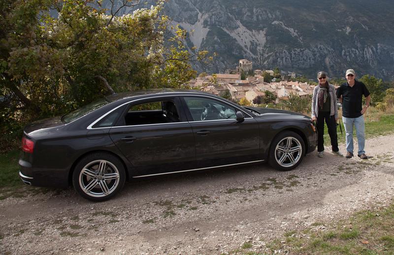 traveling in the Gorge du Verdon