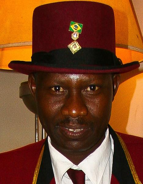 Bellman at Victoria Falls Hotel, Zimbabwe
