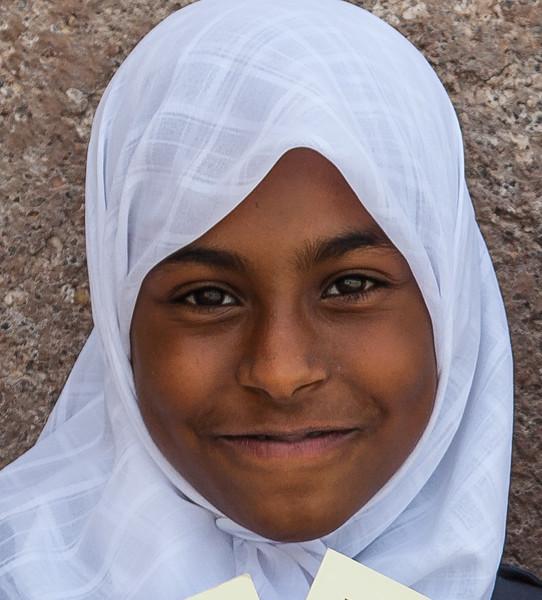 school children in Khasab