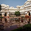 Nahargarh Hotel Ranthambhore built from model of Maharaja's Palace