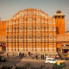 Hawa Mahal in Jaipur (Palace of Winds)