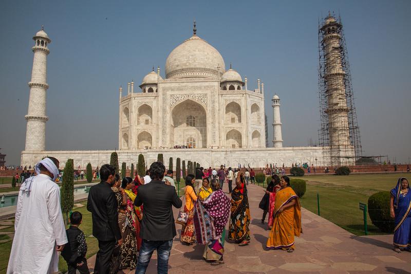 Restoration at the Taj