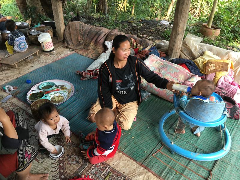 dinnertime at pottery village home