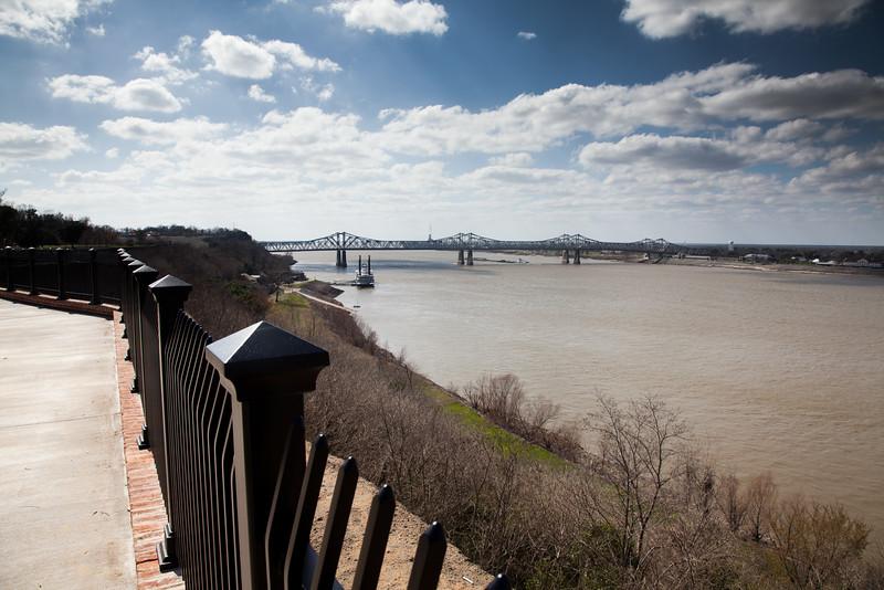 Mississippi River from Natchez
