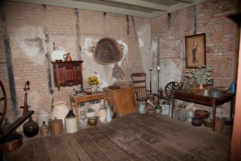 food preparation area, Laura Plantation