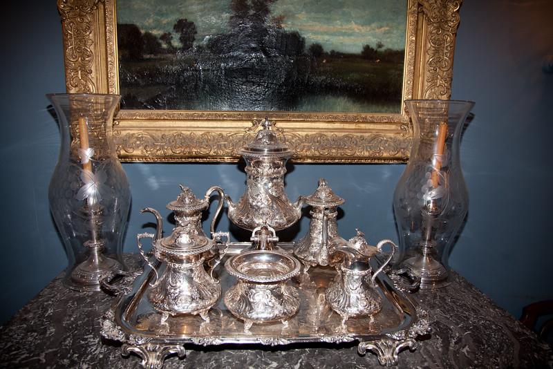 tea service, Houmas House