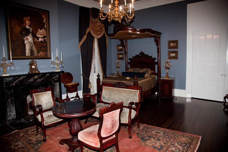 Nottoway Plantation, master bedroom