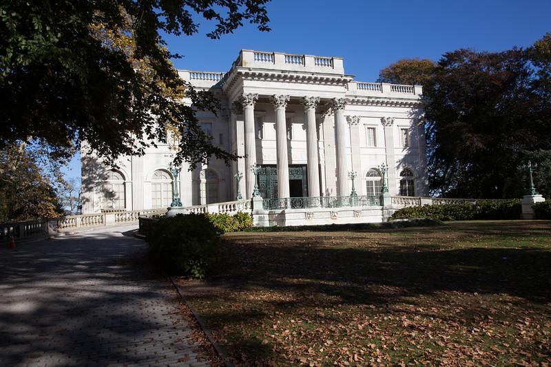 Marble House, Newport, RI, home of Consuela Vanderbuilt.