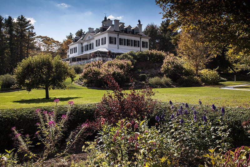 The Mount, home of Edith Wharton, in Lennox, MA