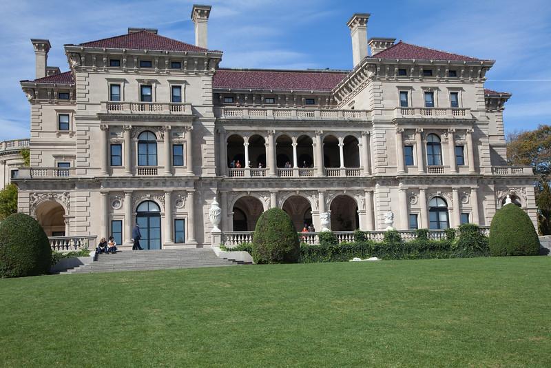 The Breakers, Newport, RI, home of  Cornelius Vanderbuilt II