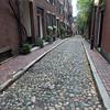 Cobblestone (Acorn) Street in Boston (Beacon Hill)