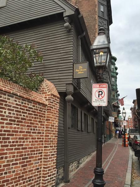 Paul Revere's house, Boston