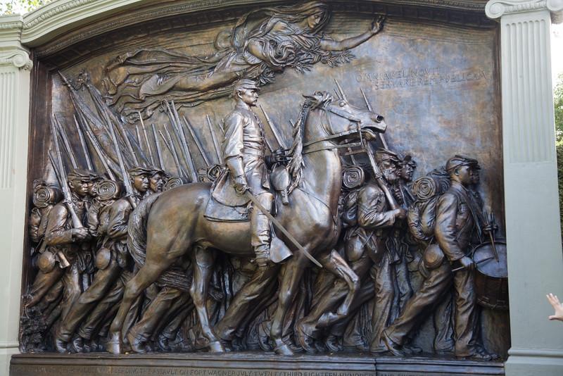 Saint Gaudens sculpture at his studio in N.H. (model)