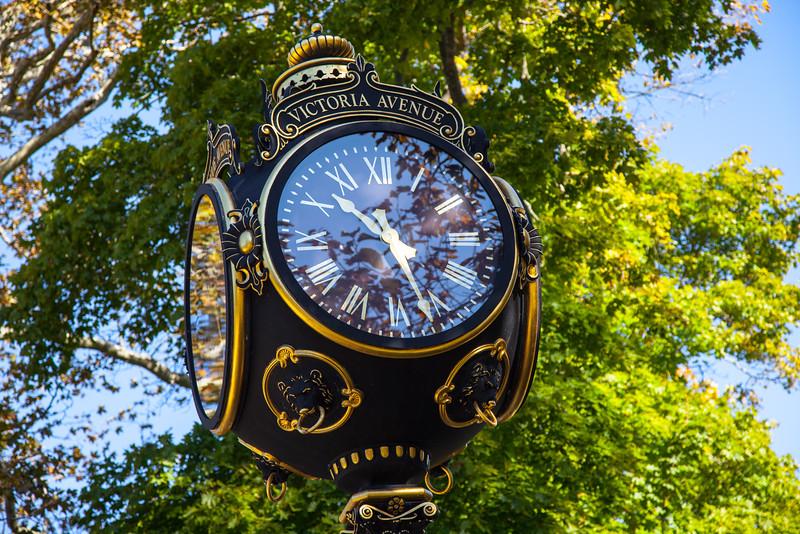 Sign at Bellvue and Victoria, Newport, RI