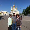 at Peterhof in St. Petersburg