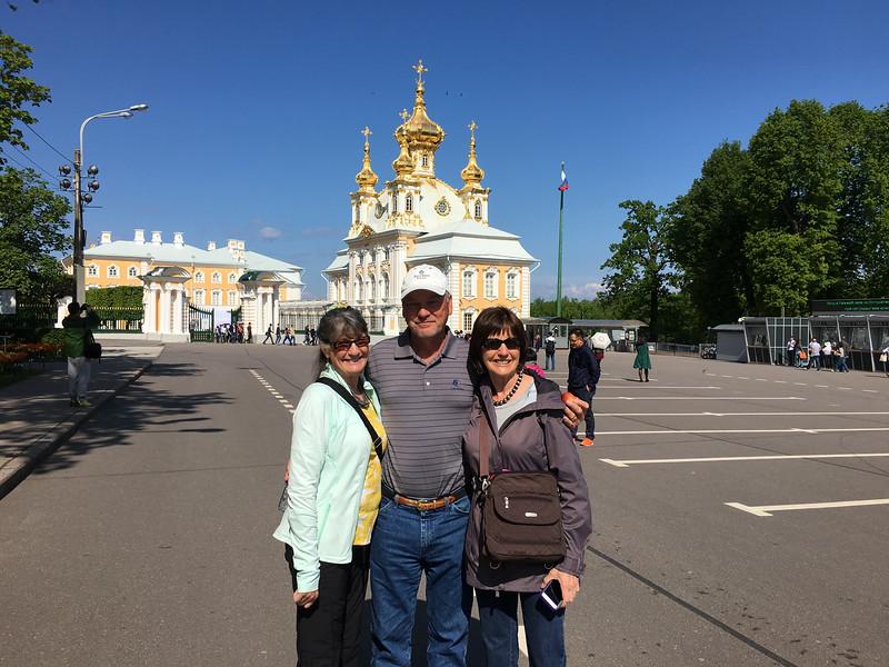 at Peterhof in St. Petersburg