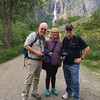 Bill with Don and Candy at Briksdal