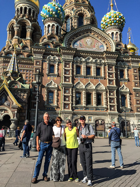 The usual suspects at the Church of the Spilled Blood, St. Petersburg
