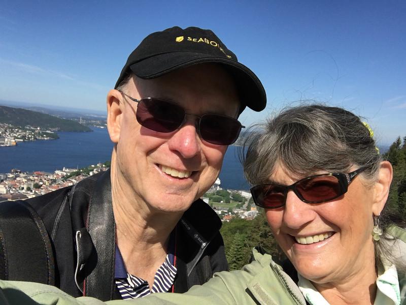 Selfie in Bergen