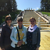 Kathi and Barb with our guide Katya at Peterhof