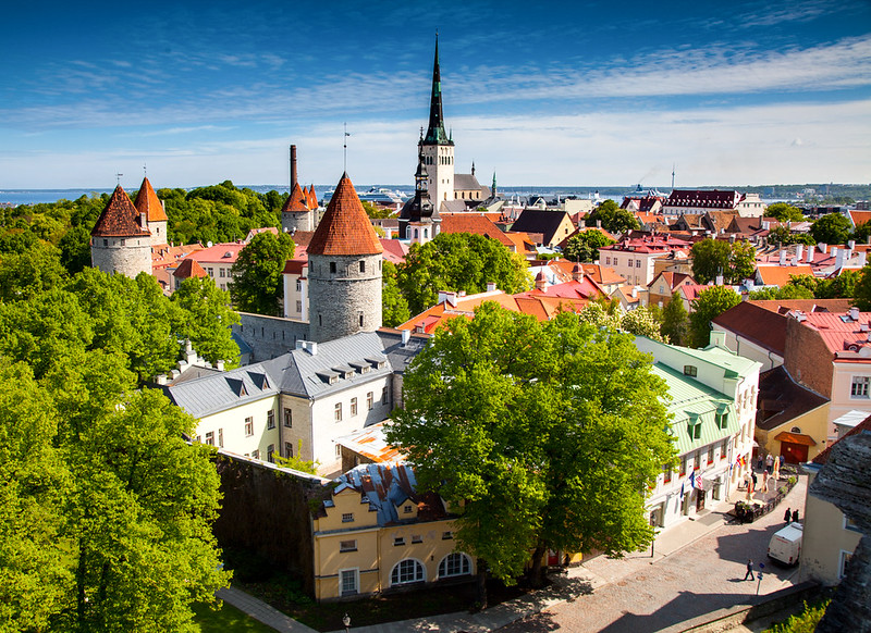 Old city of Talinn, Estonia