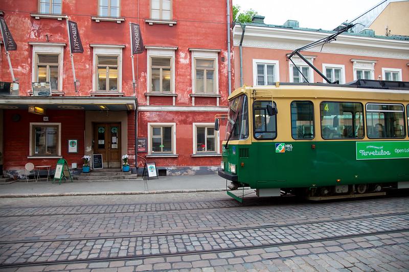 Helsinnki, tram