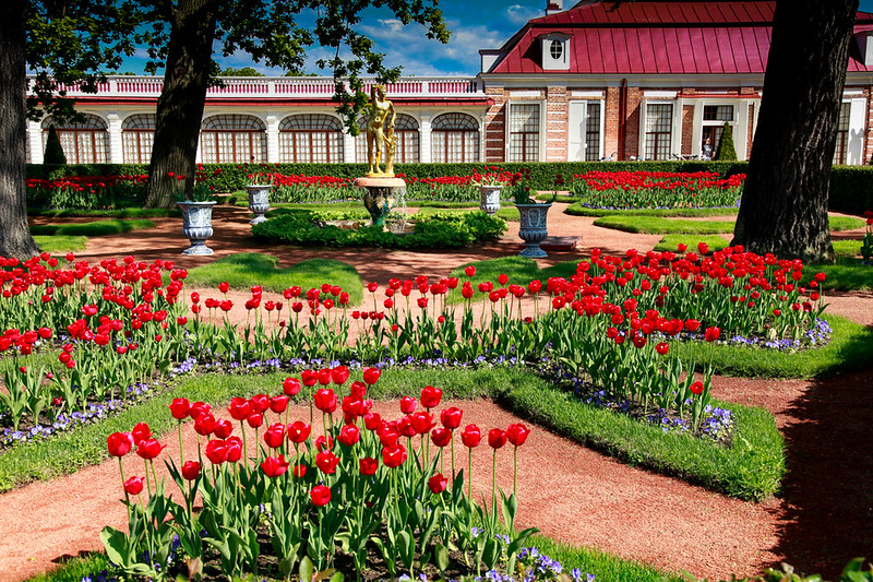 grounds of Peterhof