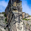 Pulpit rock (with climbers on top)