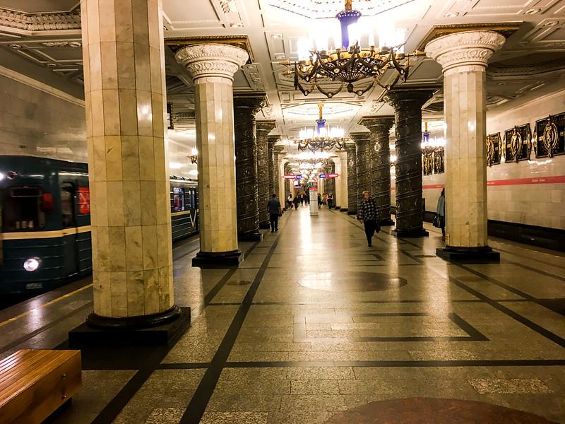 Subway station, St Petersburg