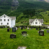 cemetary in Olden, Norway