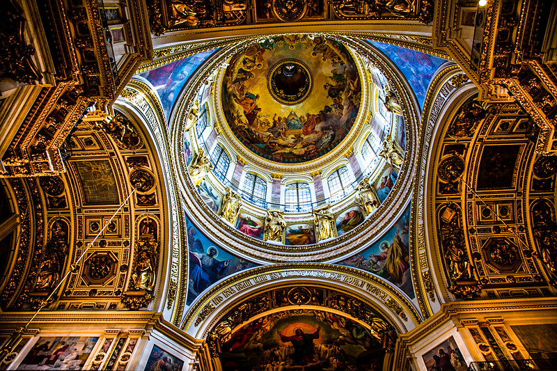 dome at St. Issac's Cathedral