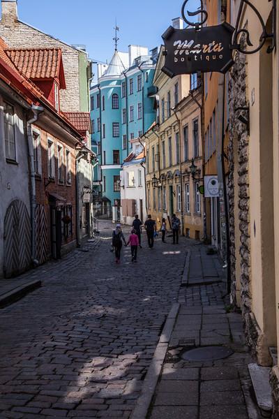 Talinn old town street