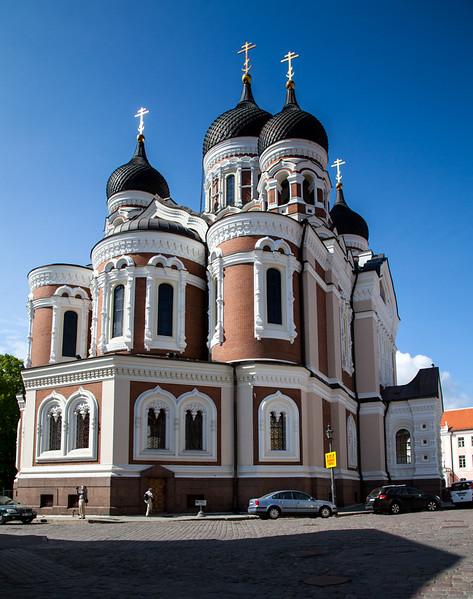 church of Alesander Nevsky, Tallinn
