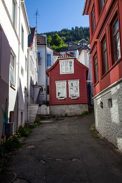 backstreets of Bergen