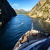 exiting Trollfjord