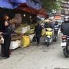 pedicab trip through Hanoi central market