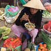 woman offers to share her pho.