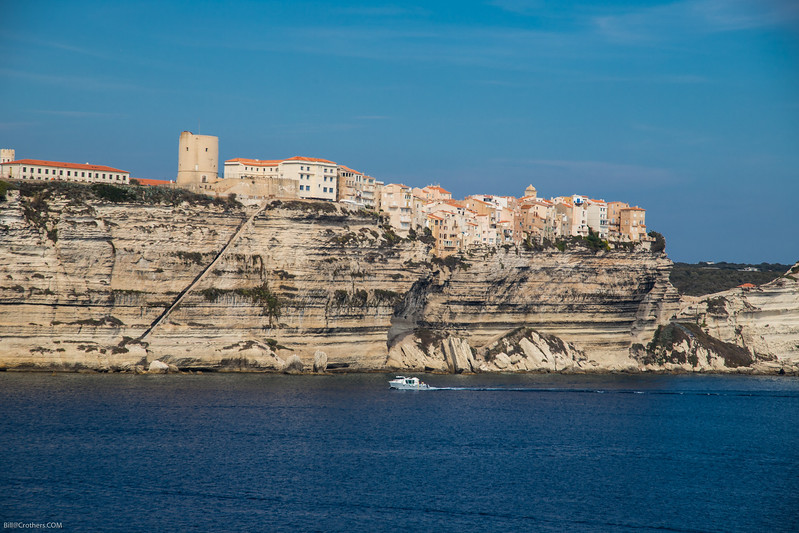 Bonafacio, Corsica from the ship