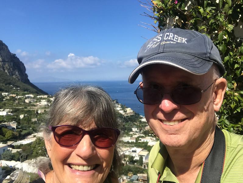 Capri Town selfie