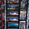 postcards for sale on Las Ramblas (main shopping /walking street)