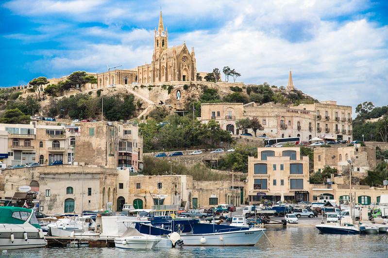 Mgarr Harbor, Gozo,, Malta