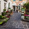 Capri town shopping street
