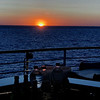 Sunset along the coast of Provence