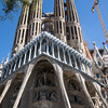 La Sagrada Familia designed by Antoni Gaudi in Barcelona